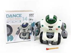 B/O Spray Robot(2C) toys