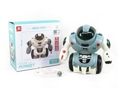 B/O Spray Robot W/M(2C) toys