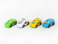 Pull Back Racing Car(4in1)