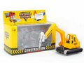 Die Cast Construction Truck Pull Back W/L(3C)