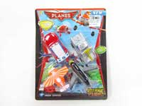 Pull Back Car & Airplane(4in1)