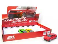 Die Cast Car Pull Back W/S(12in1)