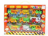 Pull Back Fire Engine(9in1)