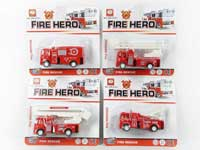 Pull Back Fire Engine(4S)