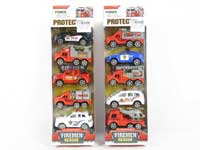 Pull Back Fire Engine(5in1)