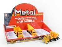 Metal Pull Back Construction Truck(6pcs)