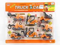 Pull Back Construction Truck(8in1)