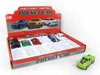 Pull Back Car(12in1)
