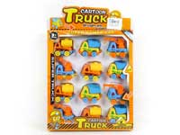 Pull Back Construction Truck(12in1)