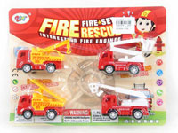 Pull Back Fire Engine(4in1)