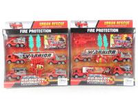 Pull Back Fire Engine Set(2S)