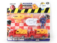 Pull Back Construction Truck Set(2in1)