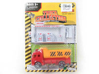 Pull Back Construction Truck Set