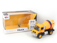 Die Cast Construction Truck Pull Back W/L_M(3S)