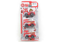 Pull Back Fire Engine(3in1)