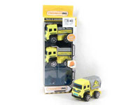 Pull Back Construction Truck(3in1)