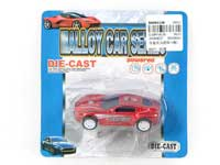 Die Cast Sports Car Pull Back(4S)