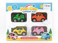 Metal Pull Back Car(4in1)
