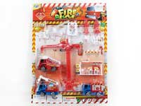 Pull Back Fire Engine Set(2S)