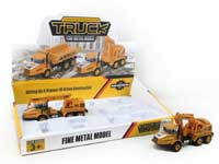 Metal Pull Back Construction Truck(6in1)