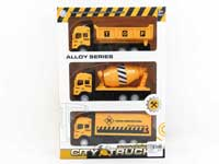 Metal Pull Back Construction Truck W/L_M(3in1)