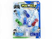 Pull Back Police Car(12in1)