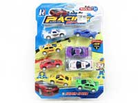 Pull Back Sports Car(8in1)