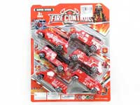 Pull Back Fire Engine(6in1)