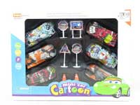 Pull Back Car Set(6in1)