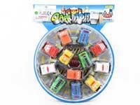 Pull Back Cross-countuy Car(12in1)