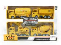 Pull Back Construction Truck(4in1)