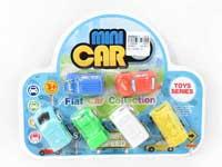 Pull Back Car(6in1)