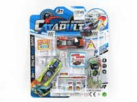 Metal Pull Back Racing Car Set(3in1)