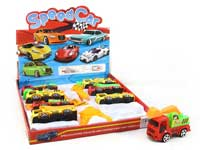 Pull Back Construction Truck Set(8in1)