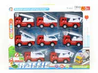 Pull Back Fire Engine(8in1)