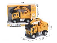 1:64 Pull Back Construction Truck
