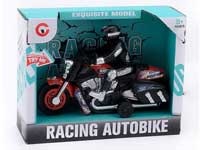 Pull Back Motorcycle W/L_M toys