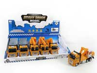 Pull Back Construction Truck(6in1)