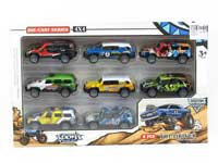 Die Cast Car Pull Back(8in1)