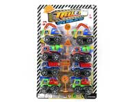 Pull back construction truck, pull back toy, mini construction truck, truck set(8in1)