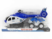 Pull Back Helicopter & Free Wheel Motorcycle