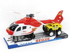 Pull Back Helicopter & Free Wheel Car(2S)