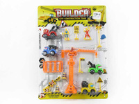 Pull Back Construction Truck Set toys