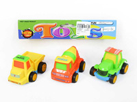 Pull Back Construction Truck(3in1) toys