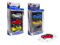 1:50 Die Cast Car Pull Back(3in1) toys