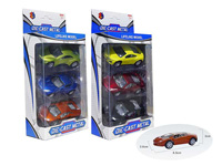 1:50 Die Cast Racing Car Pull Back(3in1) toys