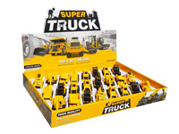 1:55 Die Cast Construction Truck Pull Back(24in1) toys