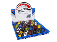1:50 Die Cast Car Pull Back(24in1) toys