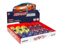 1:43 Die Cast Car Pull Back(12in1) toys