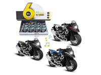 1:14 Die Cast Motorcycle Pull Back W/L_M(12in1) toys